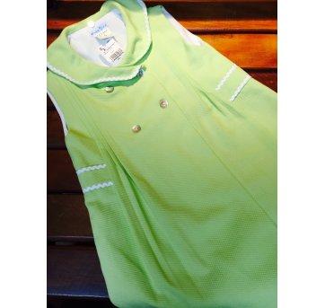 vest francês verde 4 botões baby yiro