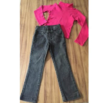 Calça Jeans Preta Hering