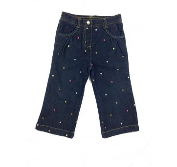 Calça Jeans Bolinha Gymboree