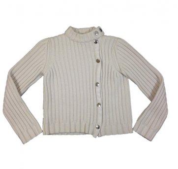 Jaqueta de Lã Creme