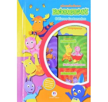 livro backyardigans - Nick JR.