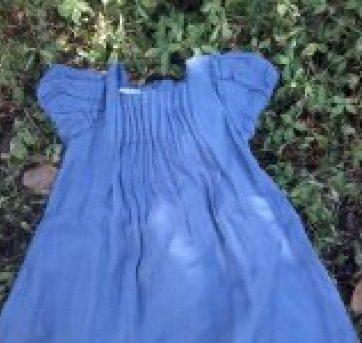 Vestido pregas