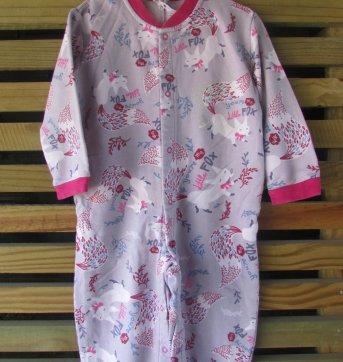 Pijama Infantil meninas Puc Flanela Tam 2 Anos