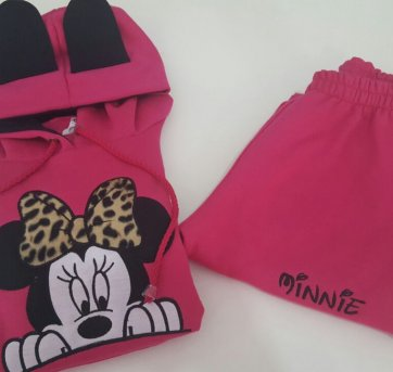 Conjunto Moletom Minnie