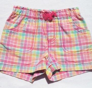 Shorts Xadrez Colorido CIRCO 2 Anos