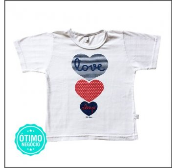 Camiseta Mr. Bear Love 3 anos