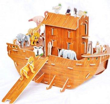 Quebra Cabeça Arca De Noé 3D