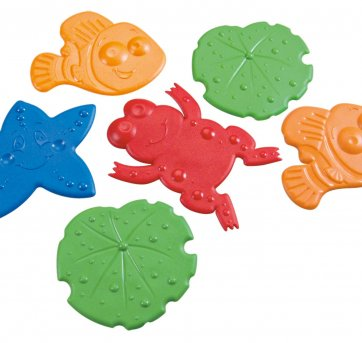 Mini Tapete Para Banho Bichinhos Colorido Kuka 6215