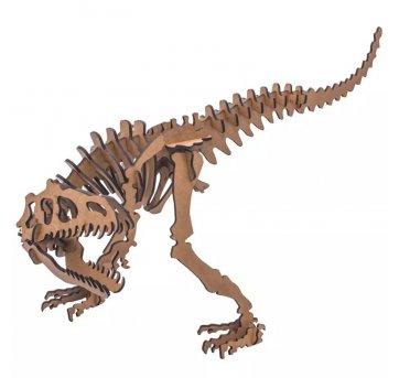 Quebra-cabeça MDF 3D Dinossauro Alossauro Pasiani
