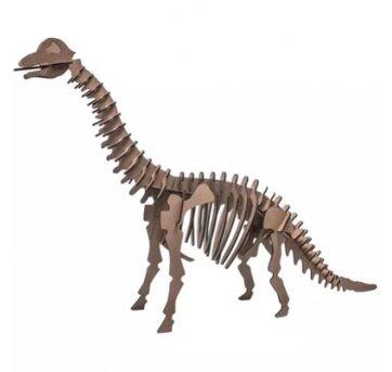 Quebra-cabeça MDF 3D Dinossauro Braquiossauro Pasiani