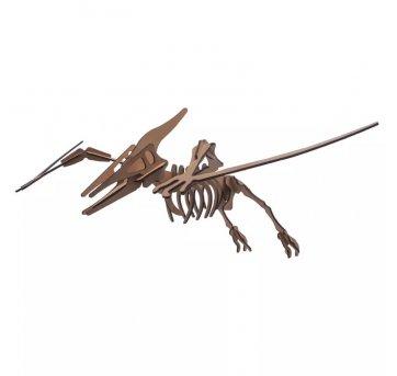 Quebra-cabeça MDF 3D Dinossauro Pterodáctilo Pasiani