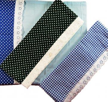 Kit De Fronhas Para Travesseiro Bebê 3 Pçs  1BB