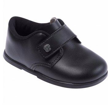 Sapato Social Infantil Masculino Preto Tam 19 Pimpolho 27129C