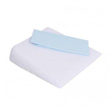 Travesseiro Antirrefluxo Carrinho 2 Fronhas Azul Papi 3970