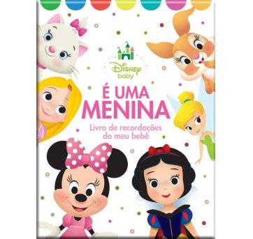 Álbum Livro Recordações Meu Bebê Menina Disney Bicho Esperto