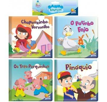 Kit 4 Livros De Banho  Divertidos Contos Todolivro