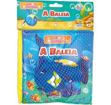 Livro De Banho Com Brinquedo A Baleia Todolivro