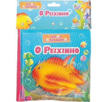 Livro De Banho Com Brinquedo O Peixinho Todolivro