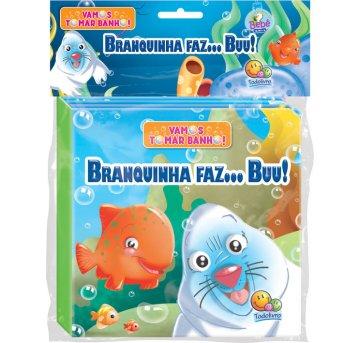 Livro De Banho Com Brinquedo Branquinha Faz... Buu Todolivro