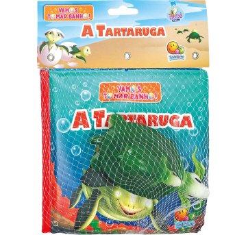 Livro De Banho Com Brinquedo A Tartaruga Todolivro