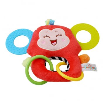 Chocalho Mordedor Macaco Happy Monkey