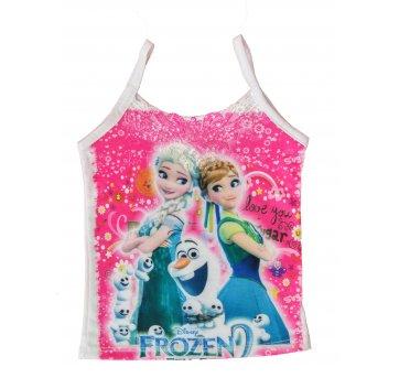 Kit com 3 peças Blusas Infantis Frozen Tamanho de 1 ao 6 .