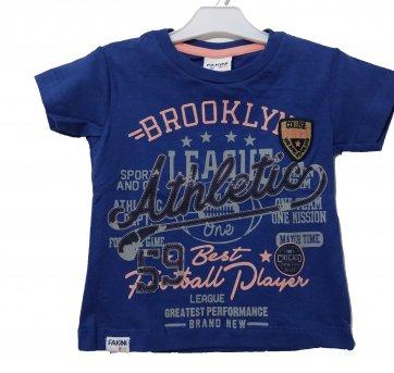 Camiseta Bebê  Brooklyn Fakini