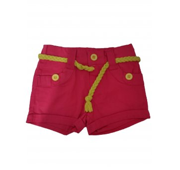 Shorts Infantil Menina Fashion .
