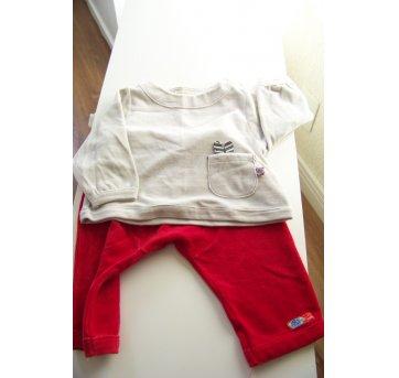 058-Conjunto Green calça e casaco em plush(0202)