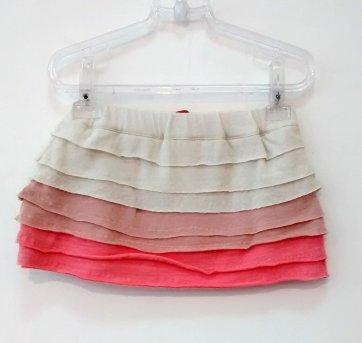 Mini saia babados