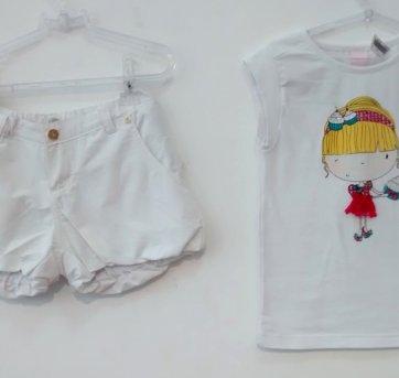 Camiseta shorts