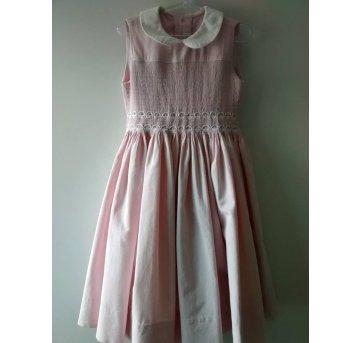 Vestido Rosa Casinha de Abelha