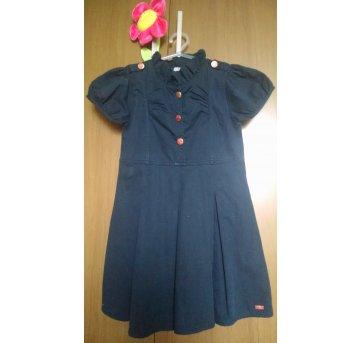Vestido Azul Marinho Puc
