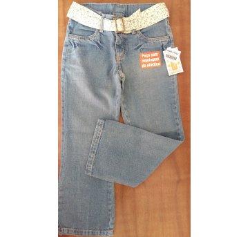 Calça jeans Alphabeto