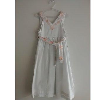 Vestido Branco Alphabeto