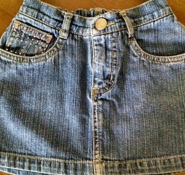 Saia Jeans Alphabeto
