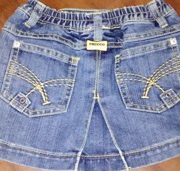 Saia Jeans Chicco