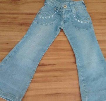 Calça Jeans Flair