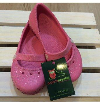 Crocs sapatilha rosa