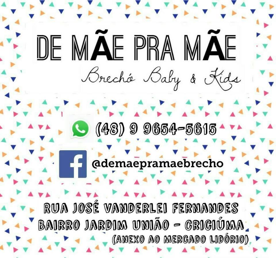 DE MÃE PRA MÃE BRECHÓ BABY & KIDS