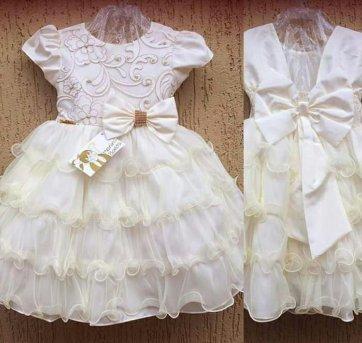 Vestido Infantil Festa Luxo Princesa