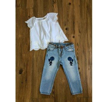 Calça Jeans Zara Baby