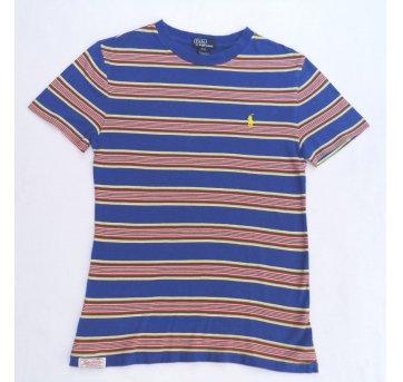 Camiseta Listrada Colorida POLO RALPH LAUREN 8 Anos