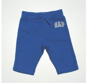 Calça Moletom Azul BABY GAP 3/6 Meses