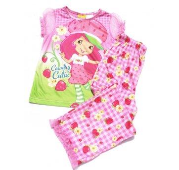 Conjunto Pijama Blusa+ Calça MORANGUINHO 5 Anos