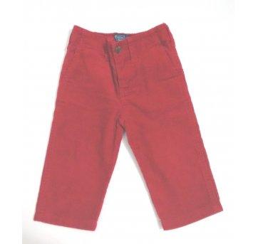 Calça Camurça Vermelha Polo Ralph Lauren 12 Meses