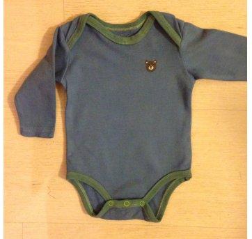 Body 0-3 meses manga longa