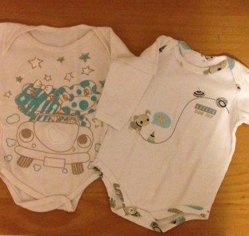 Kit 2 bodies 0-3 meses