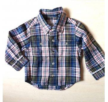 Camisa Xadrez Peek 6-12 meses