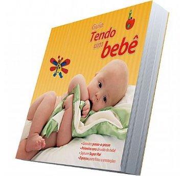 Guia Tendo um Bebê Livro de Recordações
